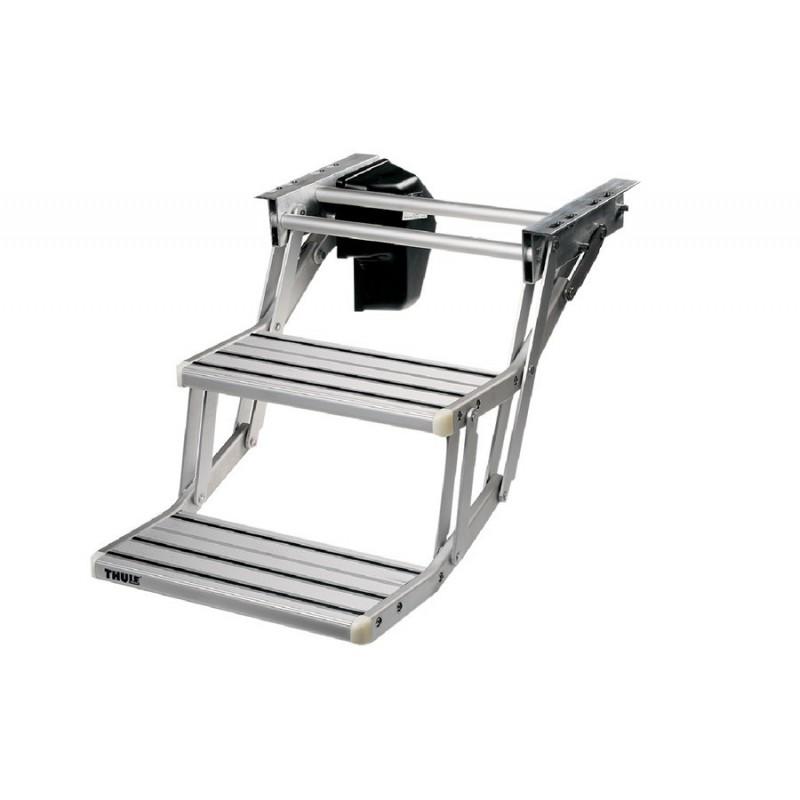 Double step 12v 380 aluminio luxecaravaning for Cocinar 12v