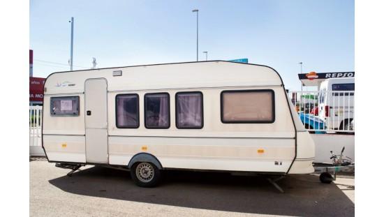 Caravana de Ocasión Hobby 550 Classic