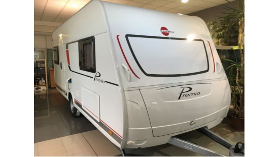 Caravana Nueva 2018 | Bürstner Premio 460 TS
