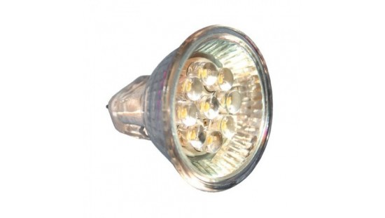 BOMBILLA 9 LED MR11 12V. 0,6W.