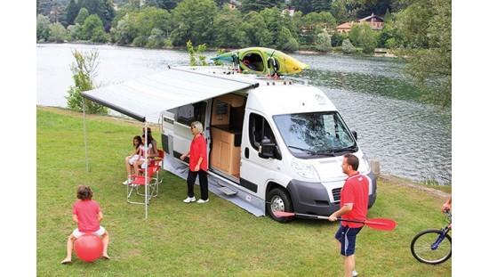 Skirting Caravan