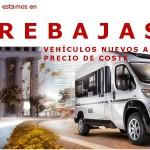 Rebajas en Luxe Caravaning: Compra ya tu caravana o autocaravana a precio de coste