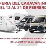 Feria del Caravaning 2016: Descuentos y promociones en caravanas, autocaravanas y camper van