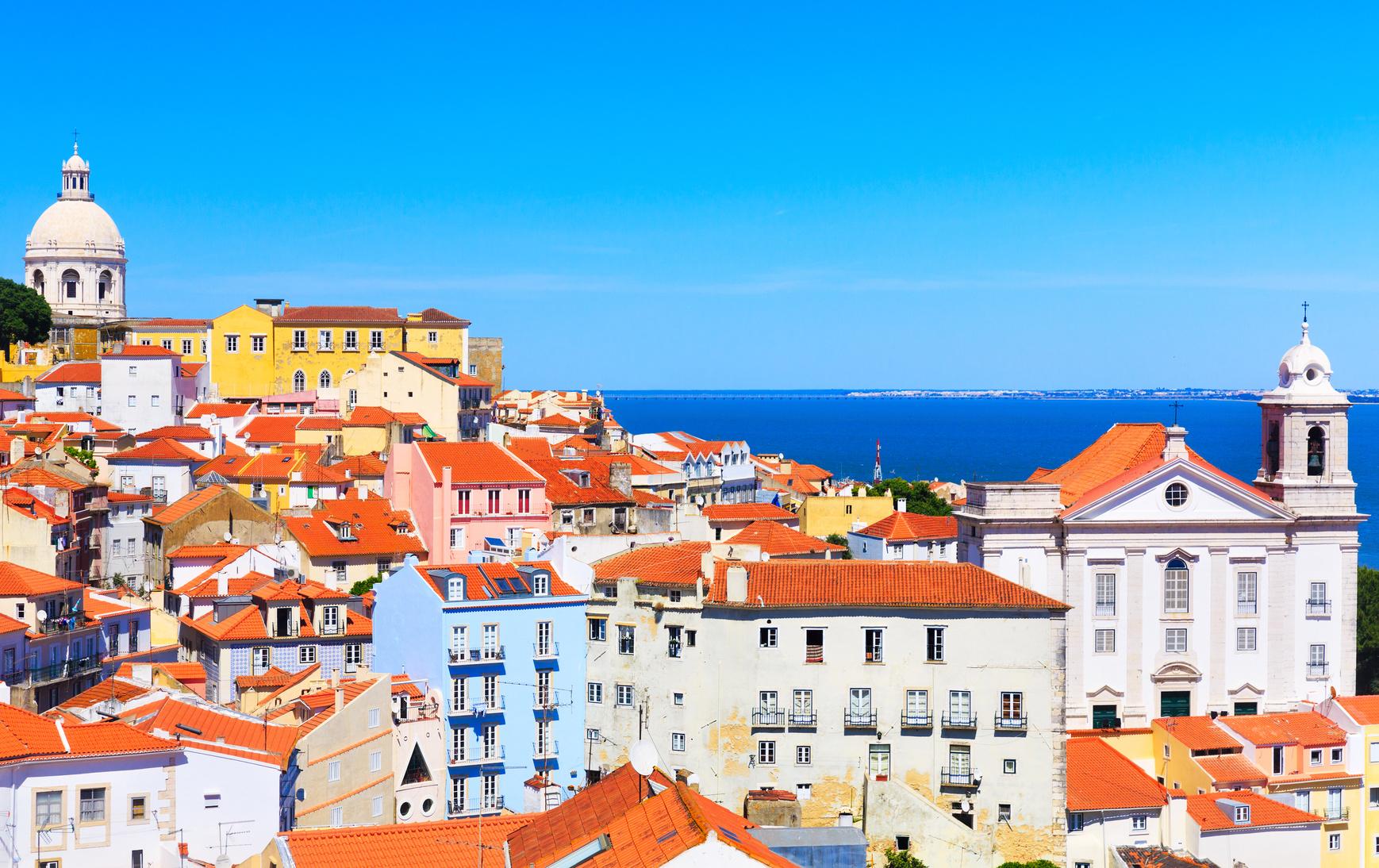 Lisboa vista desde el barrio de Alfama