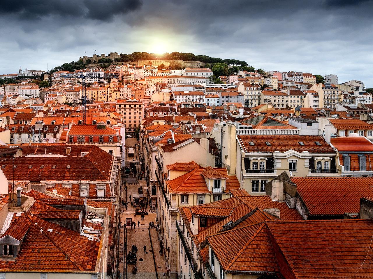 Calle de Lisboa, Portugal