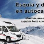 En febrero, alquila con Luxecaravaning: esquía y duerme en autocaravana