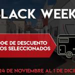 Black Week Luxecaravaning: Desde el 24 al 1 de diciembre ofertas y descuentos en caravanas y autocaravanas