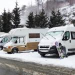 Ventajas de ir a la nieve en autocaravana