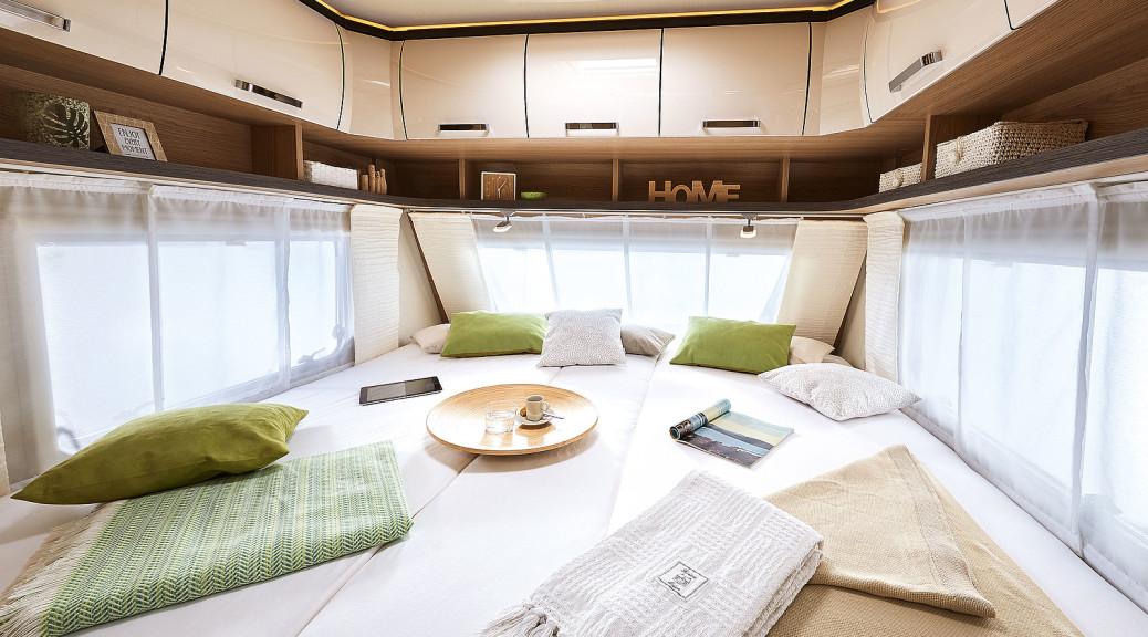 caravanas de dos o tres ambientes