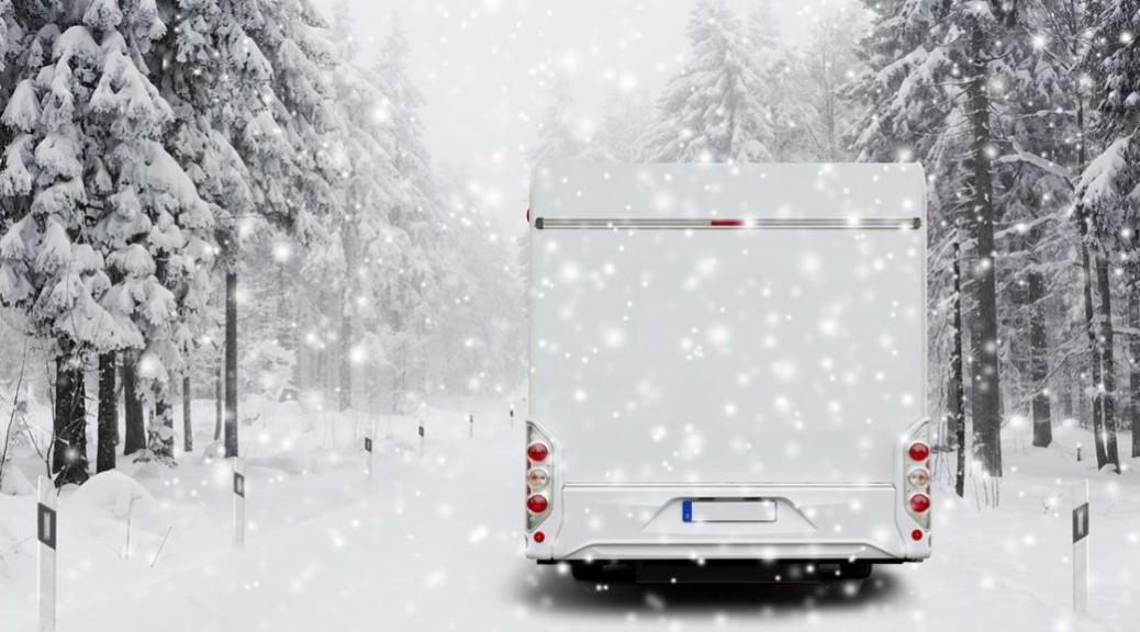 Cuidados del agua en autocaravanas durante el invierno