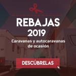 REBAJAS 2019: Empieza el año estrenando autocaravana o caravana